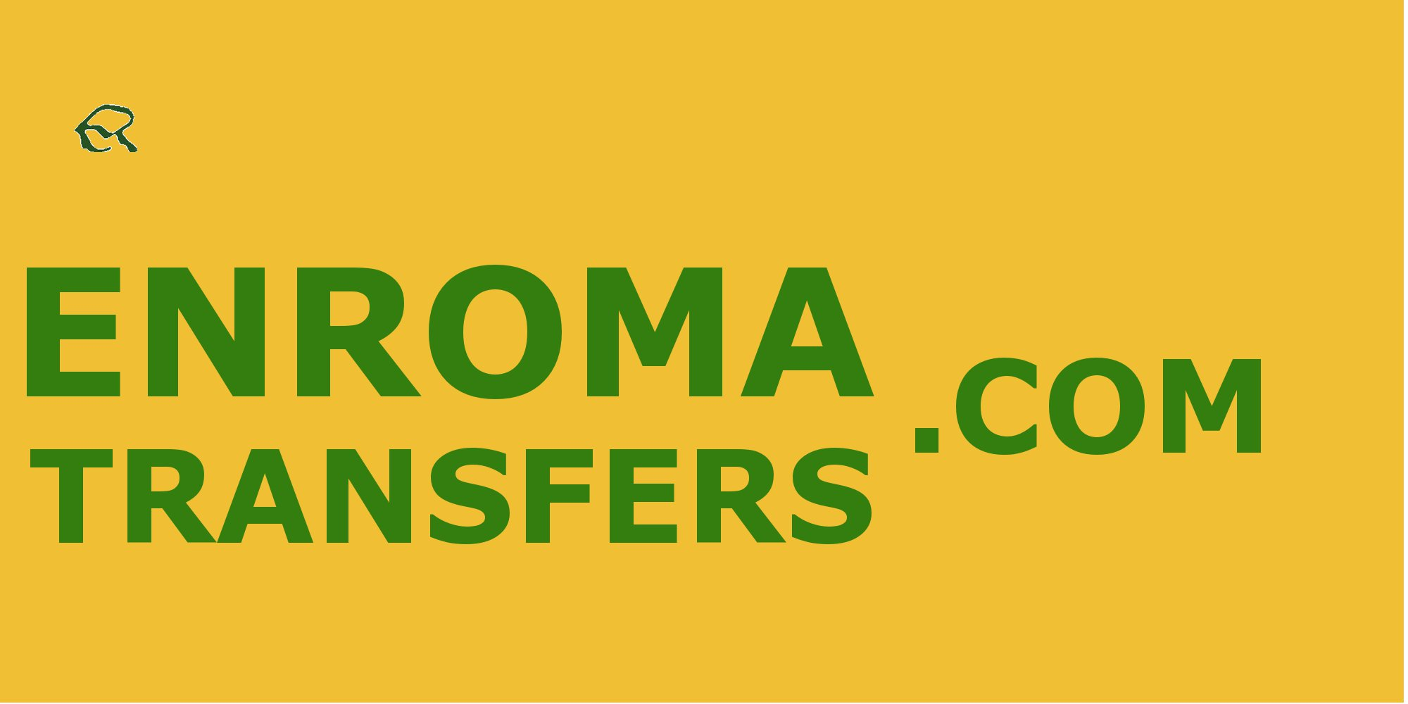 en roma transfers cartel en el aeropuerto